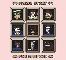 Press Start... For Justice! Kids Clothes