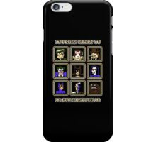 Press Start... For Justice! iPhone Case/Skin