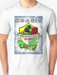 Brazil King Of Futebol T-Shirt