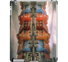 mirrored houses iPad Case/Skin