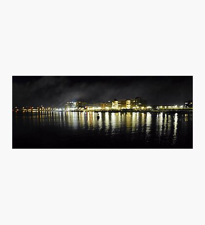 Post-Fireworks Cityscape Photographic Print