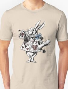 Alice in Wonderland White Rabbit Unisex T-Shirt