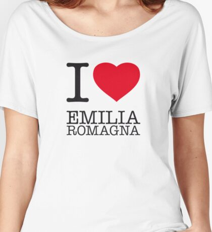 I ♥ EMILIA ROMAGNA Women's Relaxed Fit T-Shirt