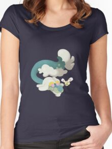 Drampa and Cutiefly Women's Fitted Scoop T-Shirt