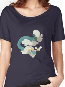 Drampa and Cutiefly Women's Relaxed Fit T-Shirt
