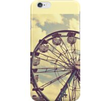 Vintage Ferris Wheel iPhone Case/Skin