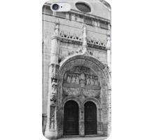 Portal da Igreja de Nossa Senhora da Conceição. Lisboa iPhone Case/Skin