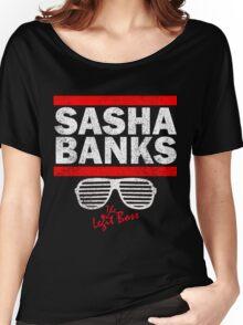 Sasha Banks Run DMC Mashup Vintage Women's Relaxed Fit T-Shirt
