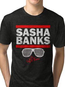 Sasha Banks Run DMC Mashup Vintage Tri-blend T-Shirt