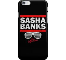 Sasha Banks Run DMC Mashup Vintage iPhone Case/Skin