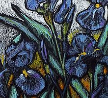Irises by Louise Poole