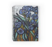 Irises Spiral Notebook