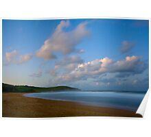 Twilight over Werri Beach Poster