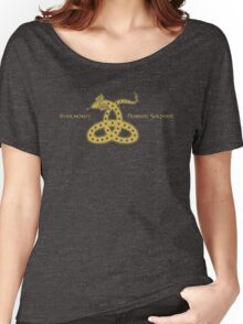 Ilvermorny Horned Serpent House Logo Women's Relaxed Fit T-Shirt