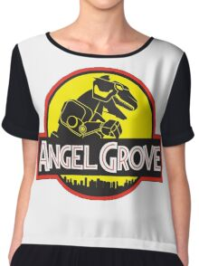 Angel Grove Chiffon Top