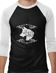 The White Wolf Men's Baseball ¾ T-Shirt