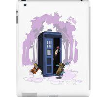 Kawarimi no jutsu - purple version iPad Case/Skin