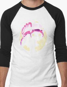 Tonari no Cheshire - Black Men's Baseball ¾ T-Shirt
