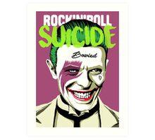 Rock Suicide Art Print