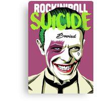 Rock Suicide Canvas Print