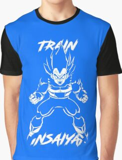 Train Insaiyan - Super Saiyan Vegeta Graphic T-Shirt
