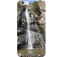 waterfall of Andorra La Vella iPhone Case/Skin