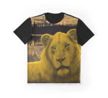 Yellow lion Justin Beck Picture 2015090 Graphic T-Shirt