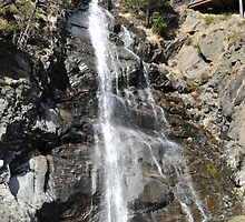 waterfall of Andorra La Vella by arnau2098
