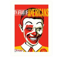 Americans Art Print