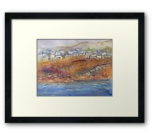 "Life on ""The Rock"" Framed Print"