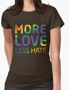 Move Love Less Hate, Strong Orlando T-Shirt Womens Fitted T-Shirt