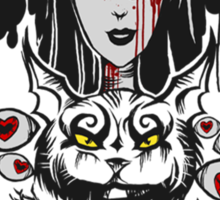 Alice MADNESS RETURNS Sticker