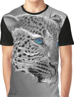 Leopard-Old-Blue-Eyes-Justin-Beck-Picture-2015098 Graphic T-Shirt