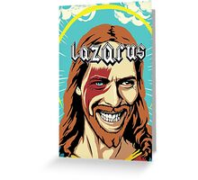 Lazarus Greeting Card