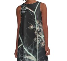 Night Whispers A-Line Dress