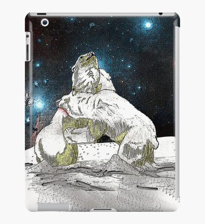 Fighting Polar Bears Justin Beck Picture 2015086 iPad Case/Skin