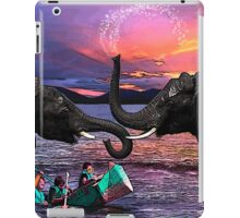 Fighting Elephants Justin Beck Picture 2015091 iPad Case/Skin