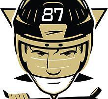 Pittsburgh Hockey T-Shirt by pcstuff