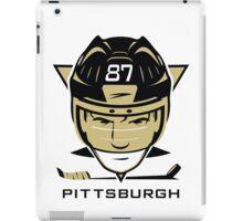 Pittsburgh Hockey T-Shirt iPad Case/Skin