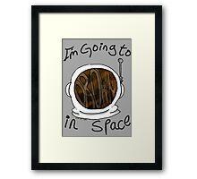 Drown in Space Framed Print