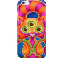 Precious Three-eyed Tentacle Cat Baby iPhone Case/Skin