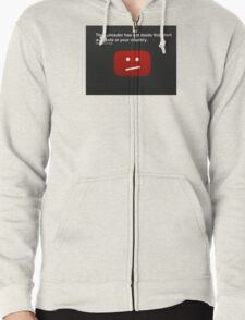 Shirt not available Zipped Hoodie
