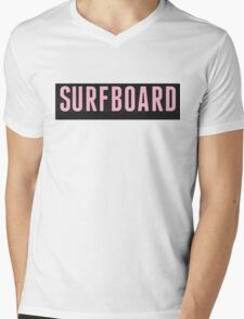 Surfboard Mens V-Neck T-Shirt