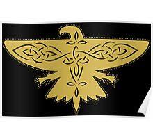 Ilvermorny Thunderbird House Logo Poster