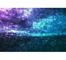 Love the rain Photographic Print