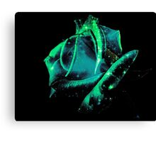 Universe Rose Canvas Print