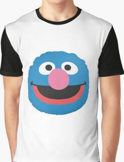 grover face Graphic T-Shirt