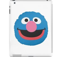 grover face iPad Case/Skin