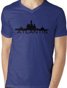 Atlantis Skyline Mens V-Neck T-Shirt