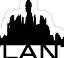 Atlantis Skyline Sticker